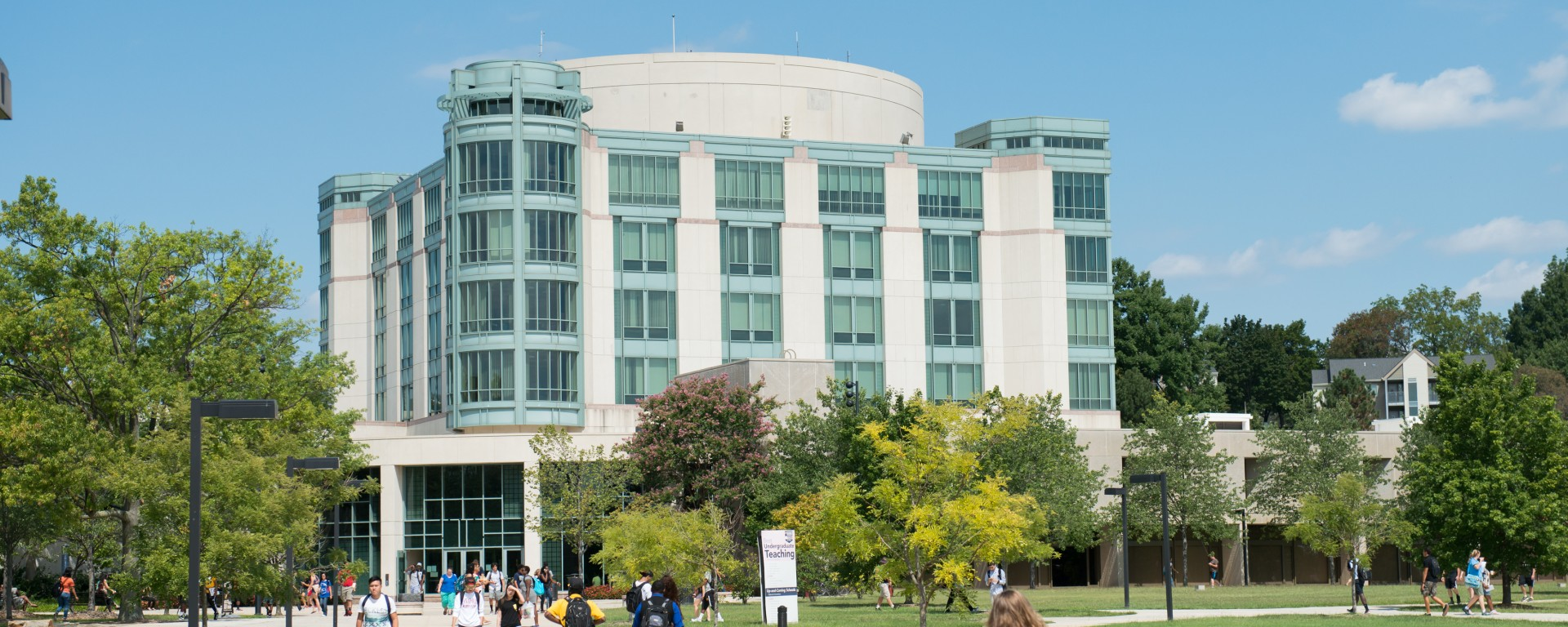 UMBC Library Summer 2015 (cropped)