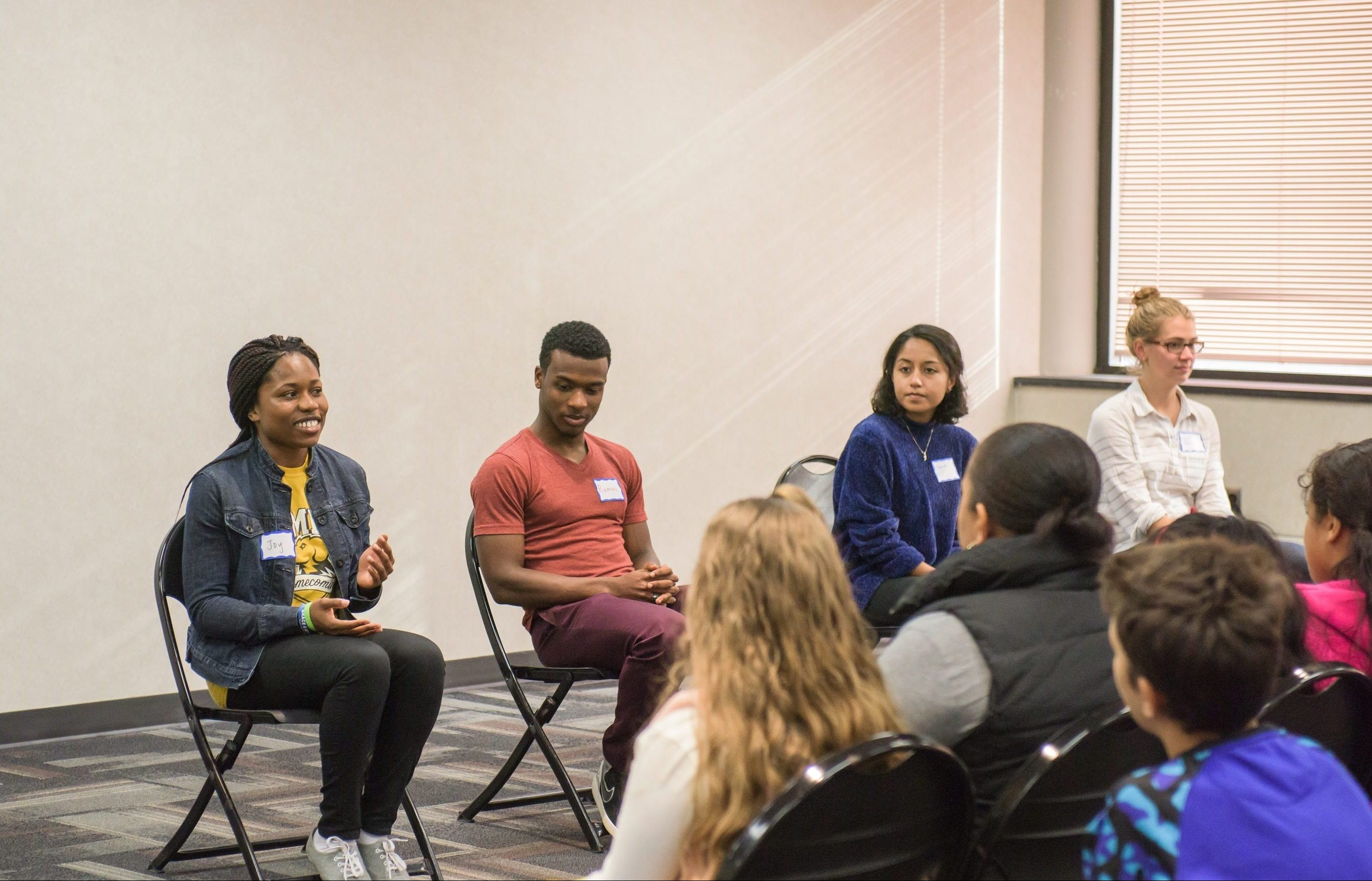 Baltimore City Elementary School Students Learn About College Opportunities Through Umbc Visit