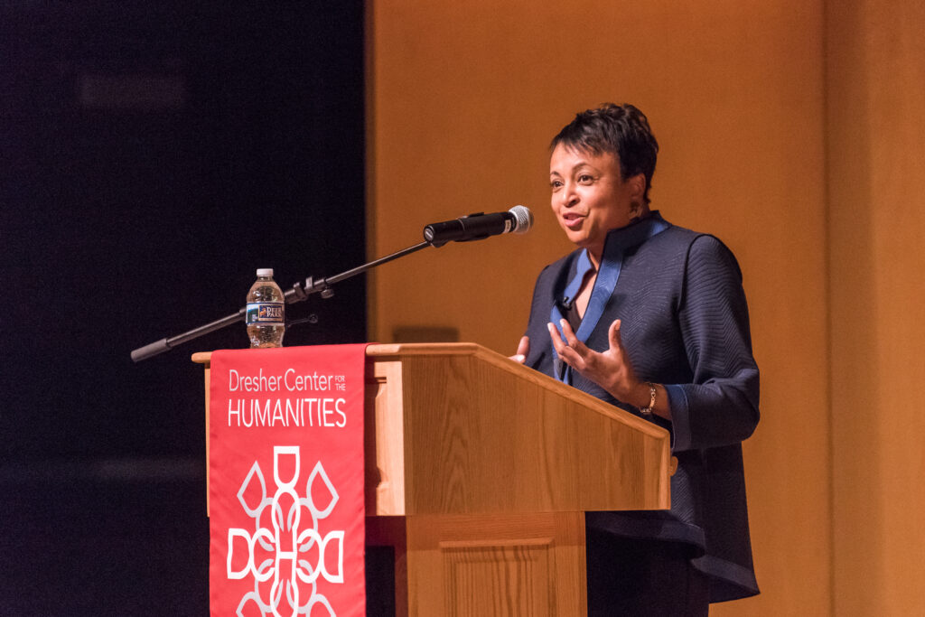 Librarian of Congress Carla Hayden speaks at UMBC.