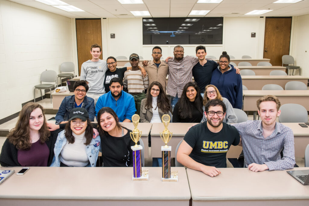 Full UMBC Mock Trial team
