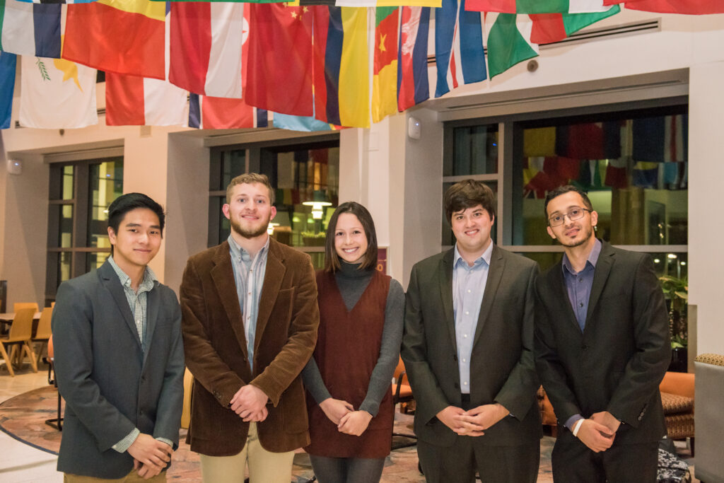 Winners of the 2017 Alex. Brown Center for Entrepreneurship Idea Competition