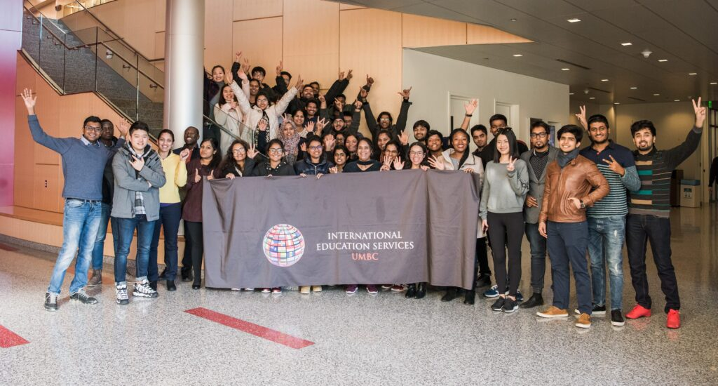 Spring 2018 international student orientation.