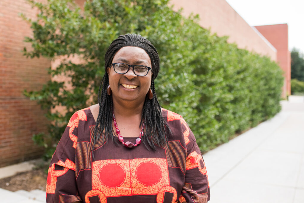 Gloria Chuku, professor and chair of Africana Studies.