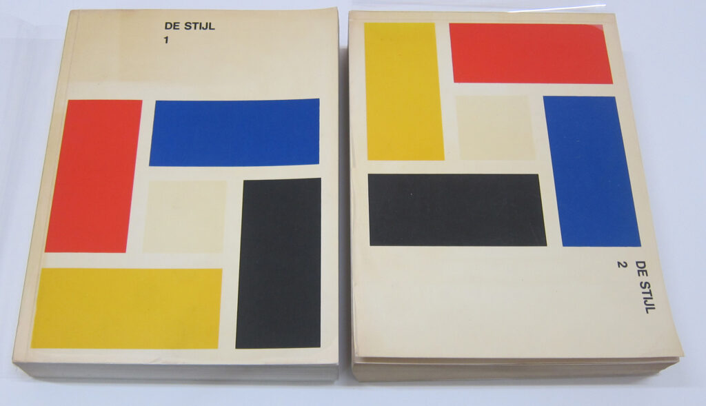 De Steil art book with geometric cover