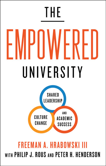 "Book cover for ""The Empowered University"""