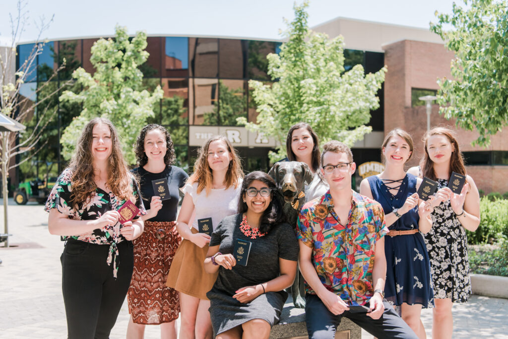 The 2018-2019 UMBC Fulbright U.S. Student recipients.
