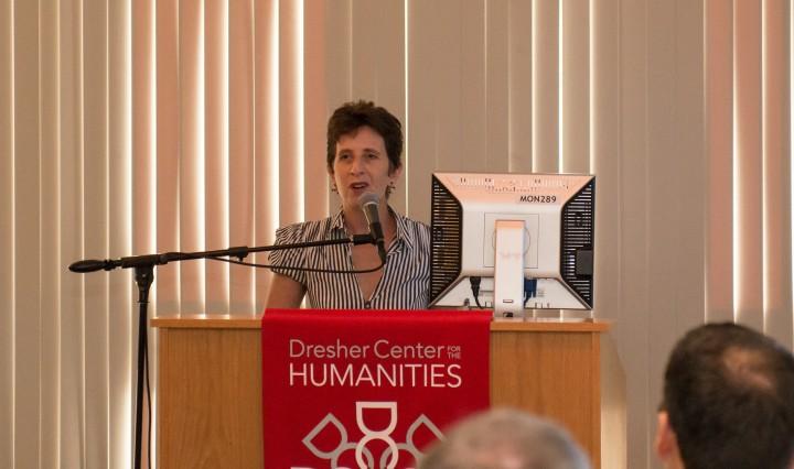 Jessica Berman at Dresher Center Talk