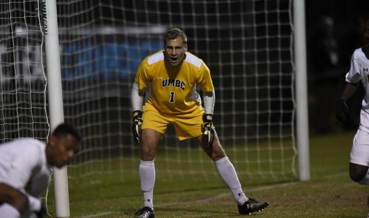 UMBC Men's Soccer Goalkeeper Billy Heavner '17, financial economics
