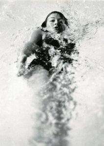 Backstroke bw