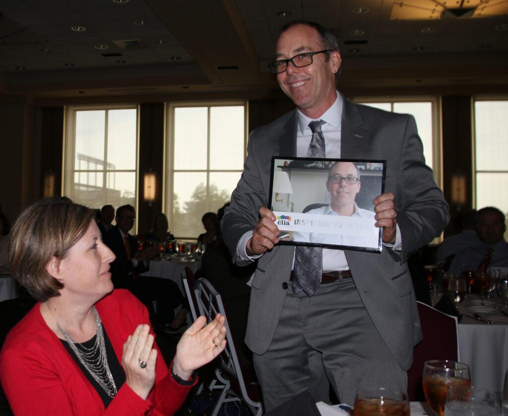 LaMar Davis at the 2016 Inspiring Voices Award luncheon.