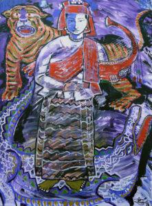 Myanmar artwork
