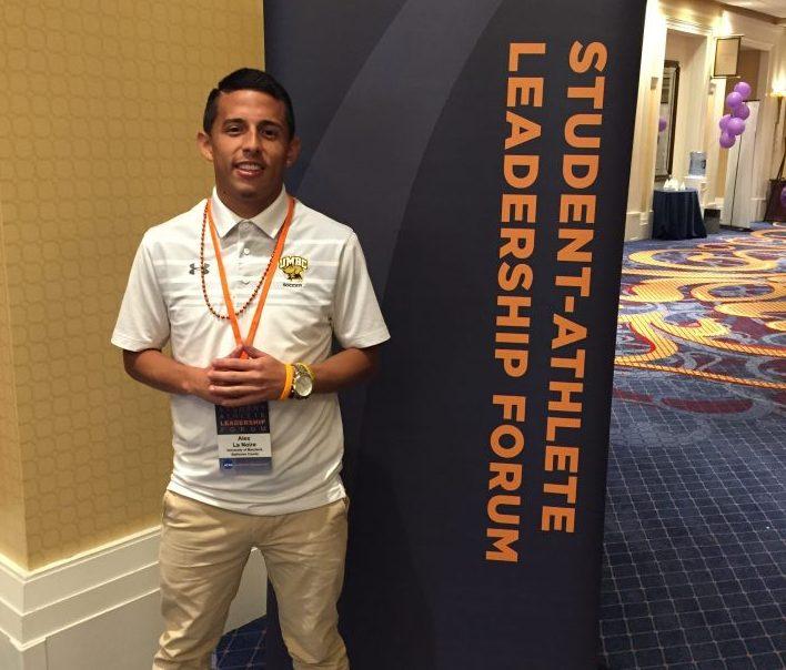 Alex La Noire '19 at the NCAA Leadership Forum in Washington, D.C.